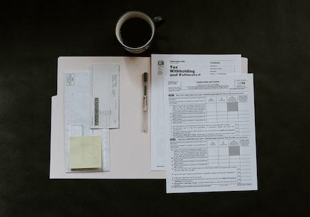 Dokumentenmappe für die Krise