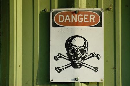 Gefahrenstoff Symbol